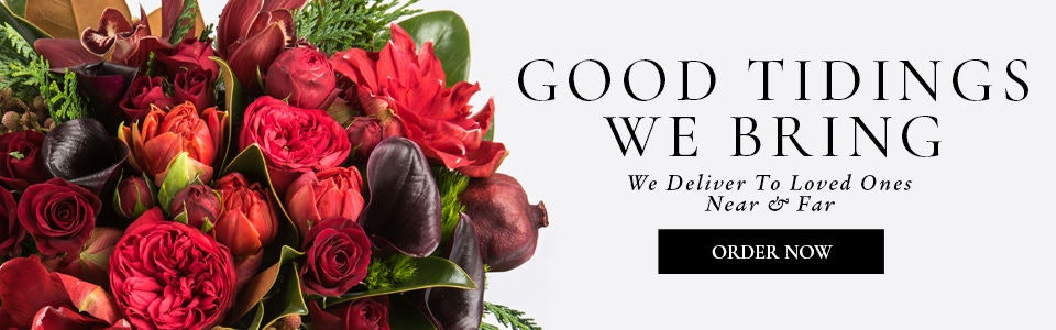 Robertson's Flowers delivers Christmas and holiday flowers to Philadelphia and nationwide