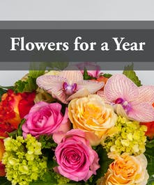 Send Fresh Flowers For A Year!