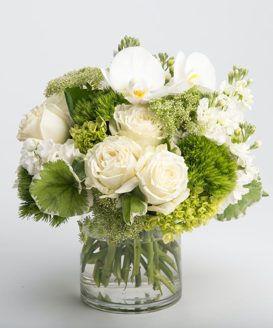 Serene whites flowers philadelphia florist robertsons flowers premium white blooms flower arrangement izmirmasajfo