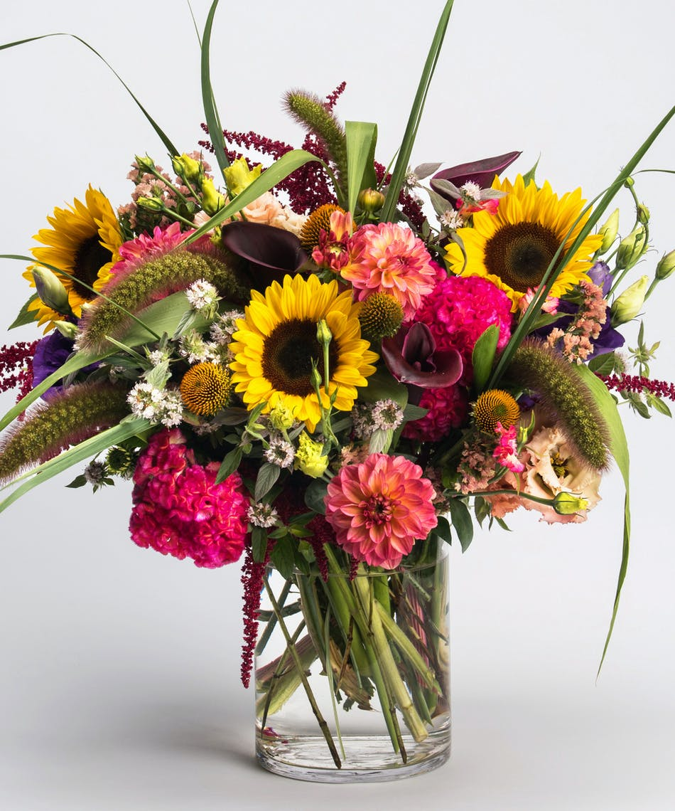 Local love locally grown fresh flower arrangement philadelphia arrangement of locally grown fresh seasonal flowers izmirmasajfo