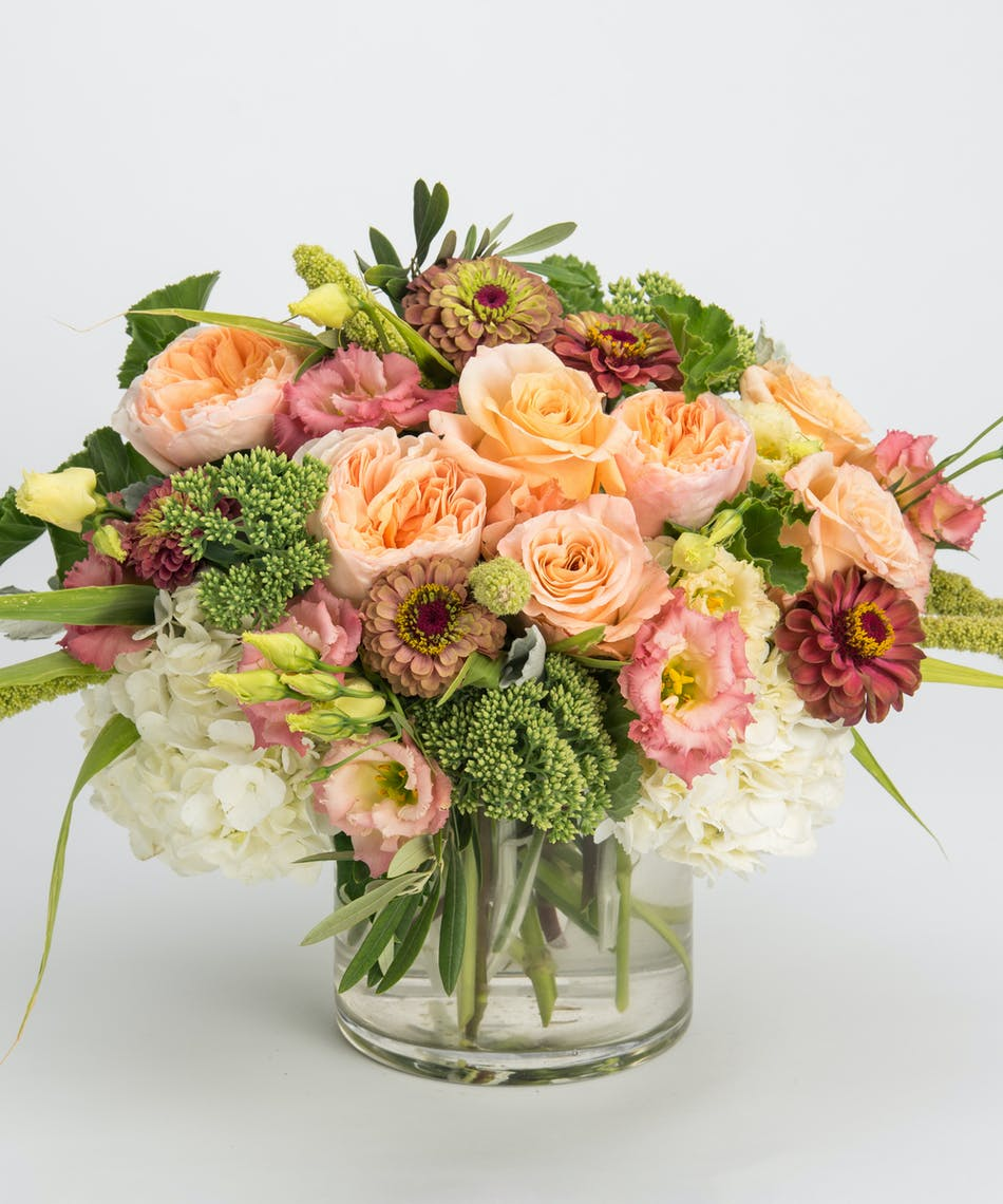 Perfectly Peach Philadelphia Florist Flower Delivery