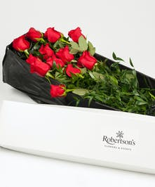 Classic Boxed Red Roses Philadephia