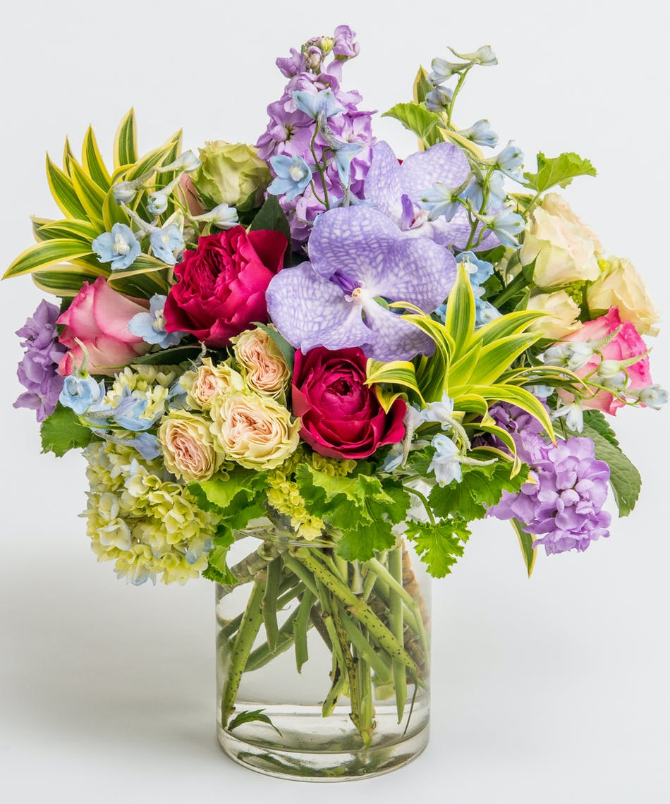 Autumn gem flowers philadelphia florist same day delivery jewel toned blooms with roses and orchids izmirmasajfo
