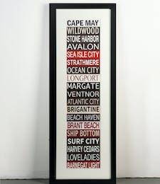 Destination Jersey Shore Sign