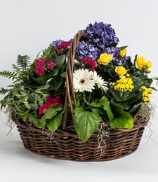 English Garden Basket